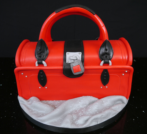 chloe style handbag cake