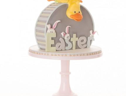 Easter duckling cake
