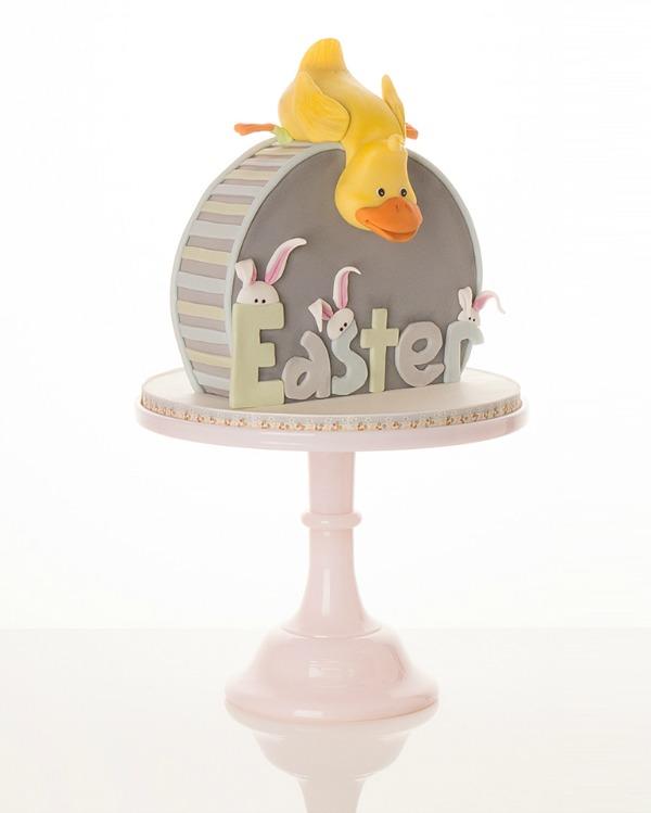 Easter-duckling-cake