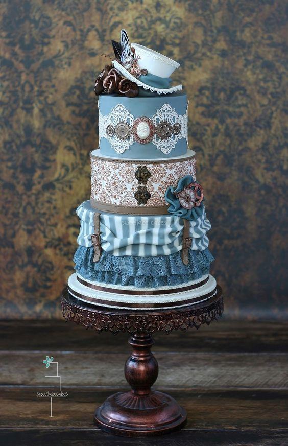 blue-steampunk-cake