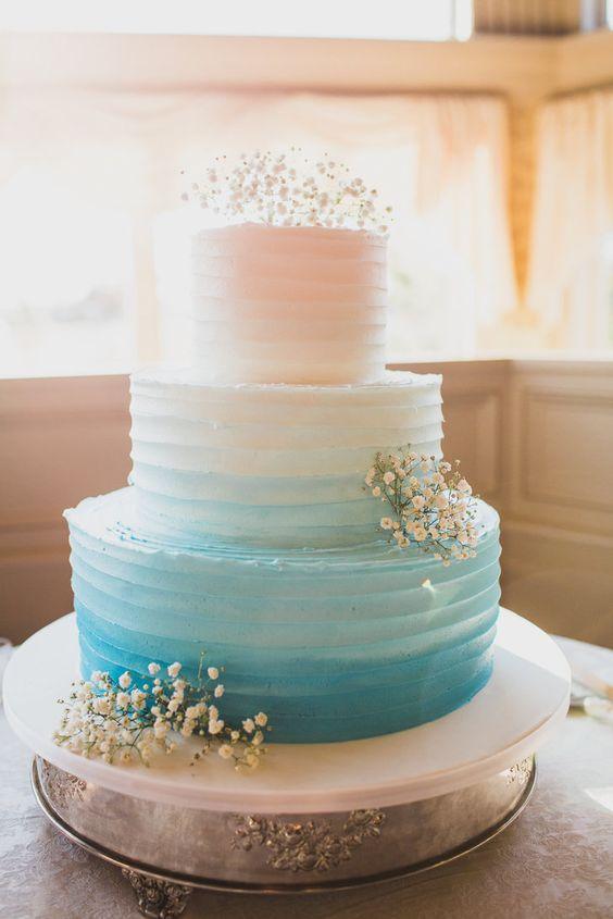 Yellow Wedding Three Tier Cake Recipes