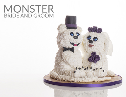 Monster Bride and Groom