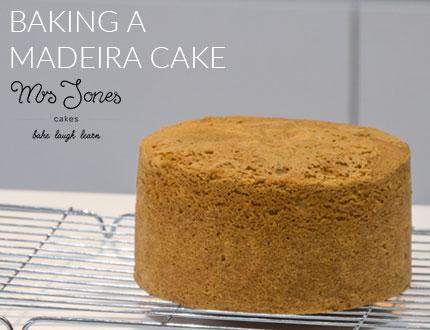 Baking a Madeira Cake