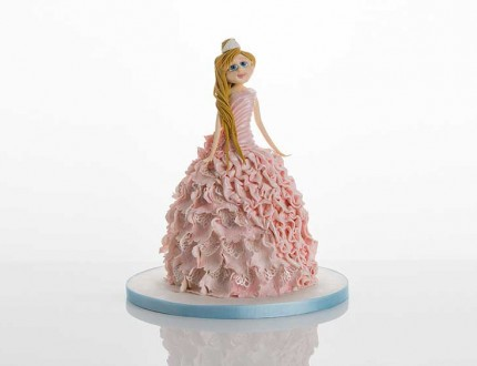 Picture of blushing princess cake by Paul Bradford