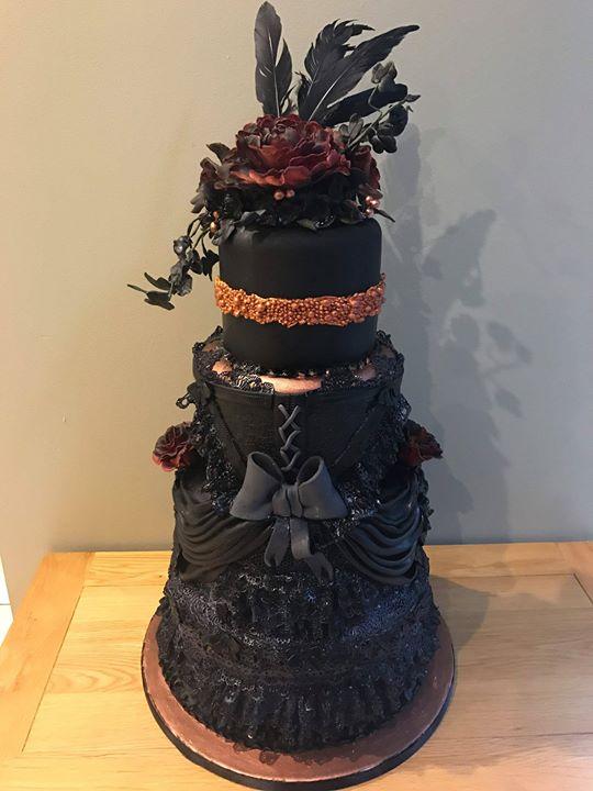 DARK NOVELTY CAKE
