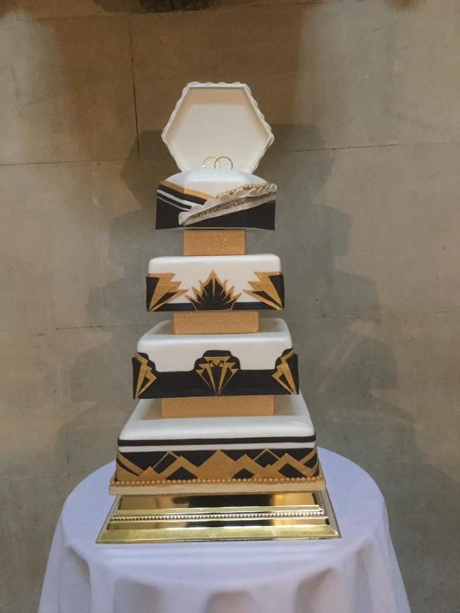 Wedding Cake art dec harry potter