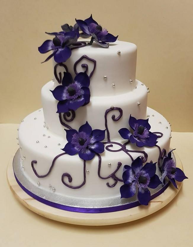 Wedding Cakes Flower Cake
