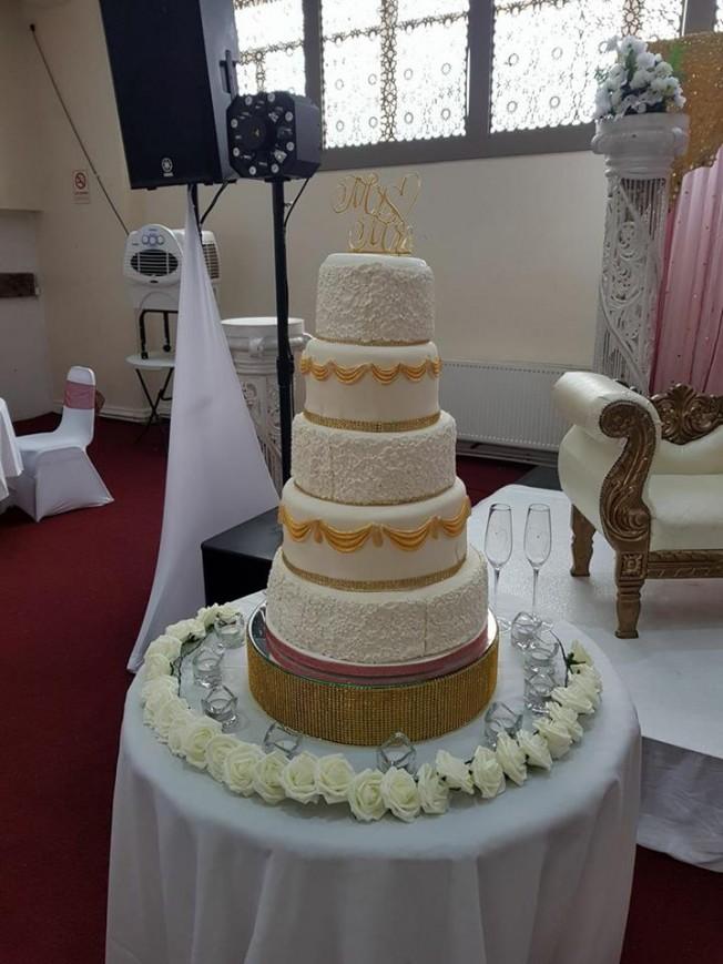 Wedding Cakes Buttercream Vanilla