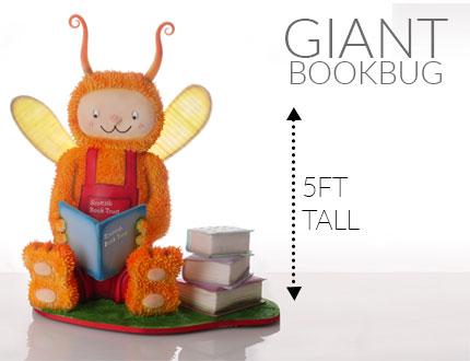Giant Bookbug Cake