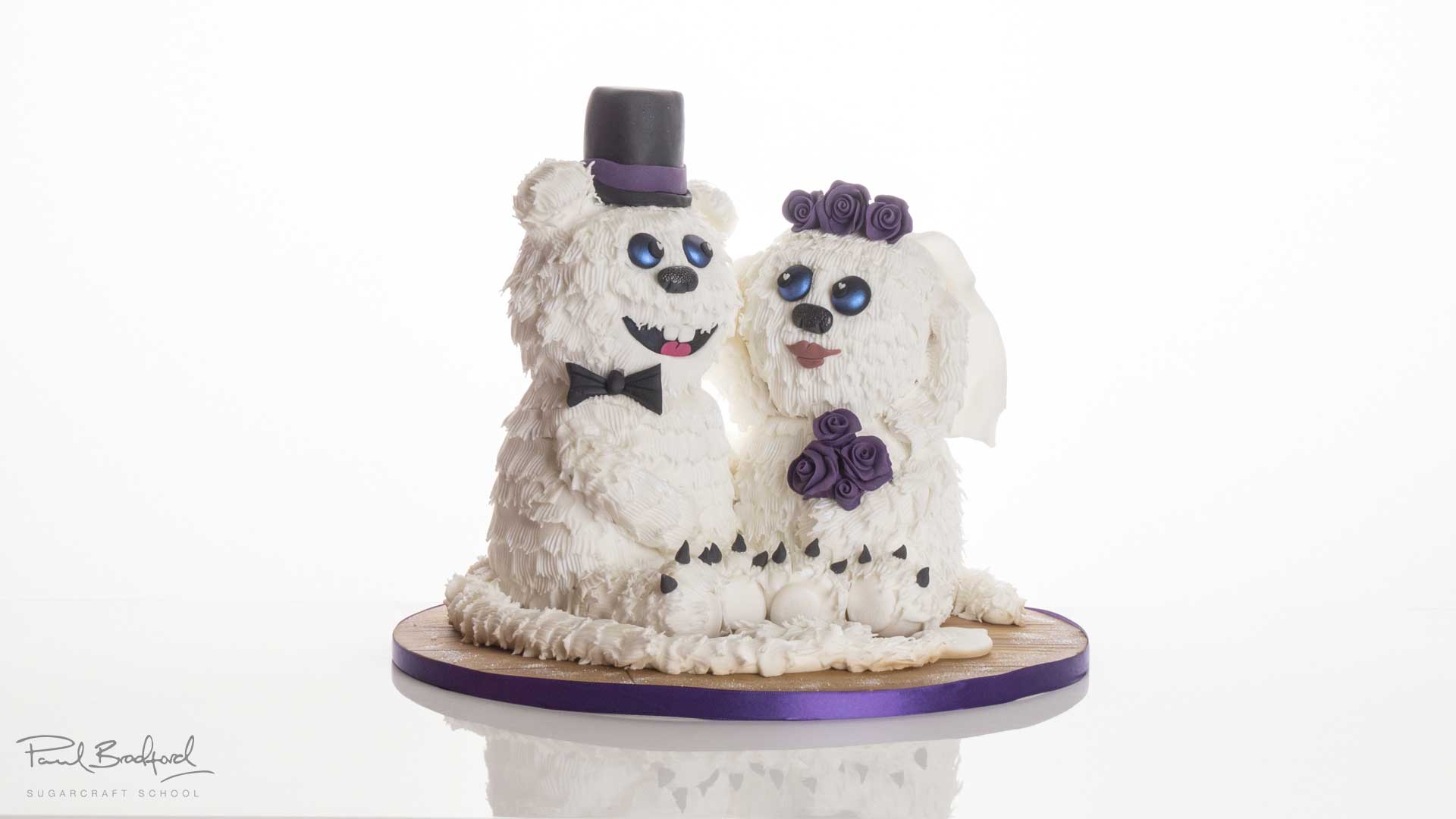 monster wedding cake