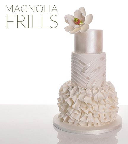 Magnolia Frills Cake Decorating and Baking Tutorial