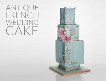 Antique French Wedding Cake