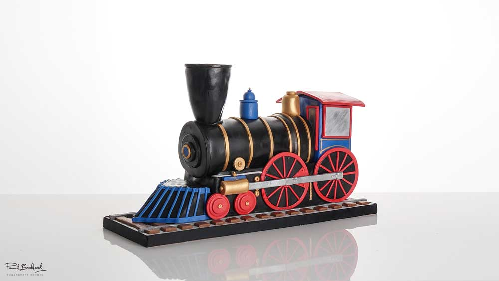 how to make a steam train birthday cake