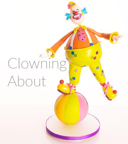 clown cake tutorial - Paul Bradford