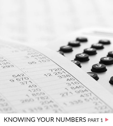 Knowing your numbers – Part 1