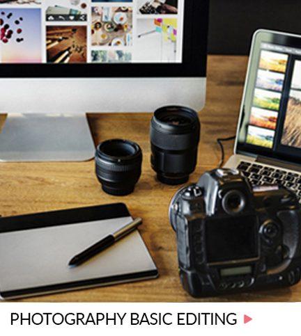 Photography basic editing