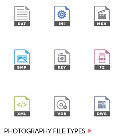 Photography file types