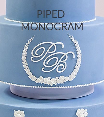 Piped monogram