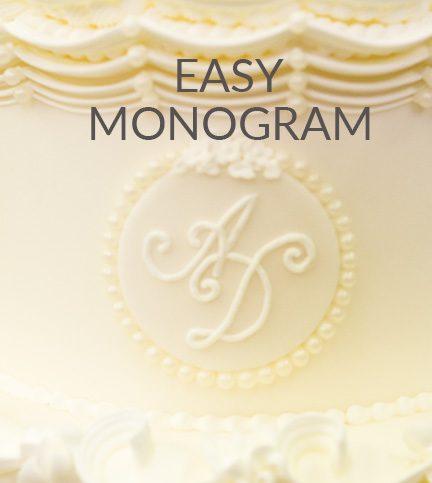 Easy monogram