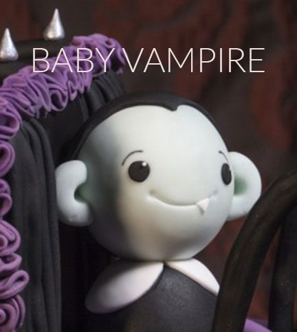 Baby vampire model