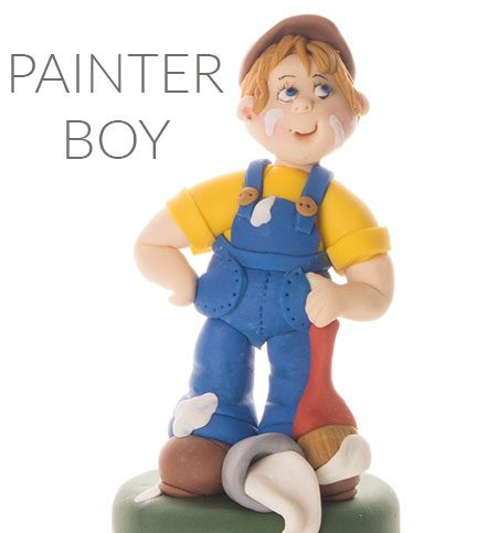 Painter boy