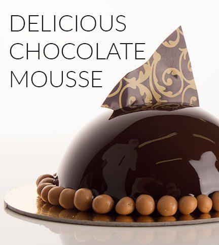 Delicous chocolate mousse recipe