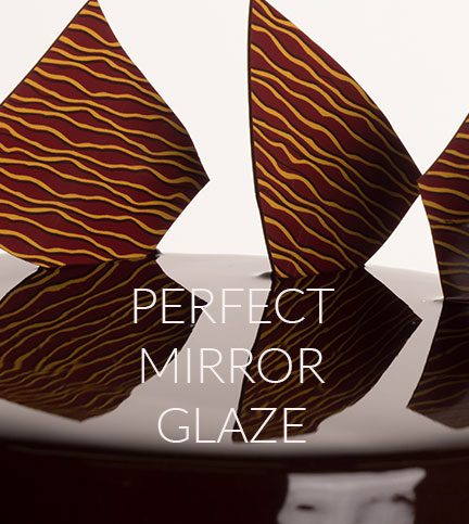Create a perfect mirror glaze for your cakes