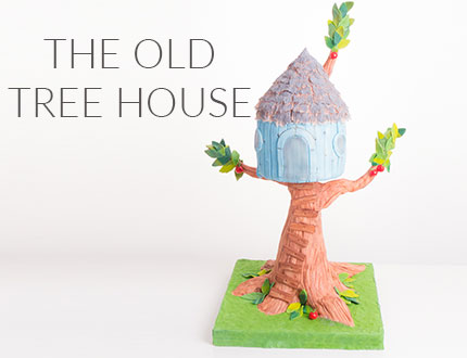 Old Treehouse Cake