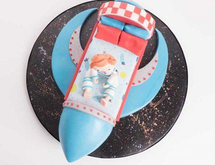 spaceship cake tutorial
