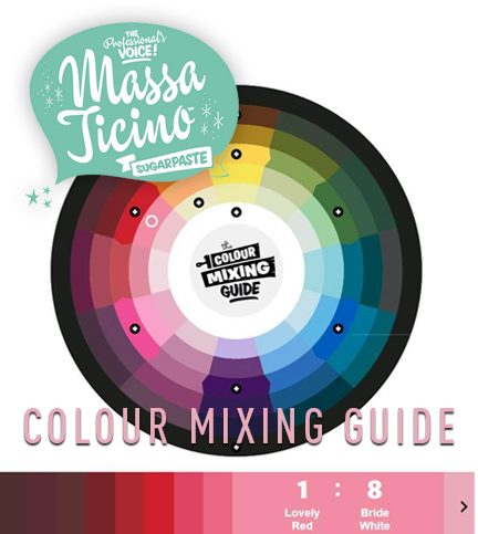 Colour mixing guide with Massa Ticino