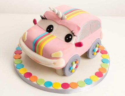 unicorn car cake tutorial