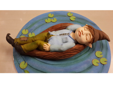 cakes of the month - gnome cake