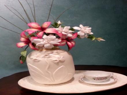 cakes of the month september - flower pot cake