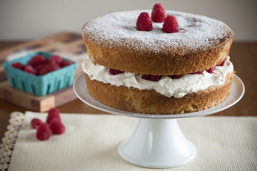 Mary Berry Reveals Quick New Method For Making Victoria Sponge