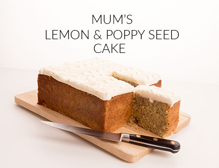 Mum's Lemon Poppy Seed cake