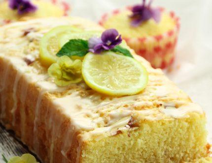 lemon drizzle cake - nation's favourite