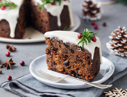 chirstmas cake tutorial - how to make christmas cake