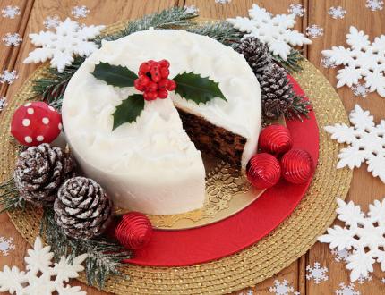 christmas cake recipe - fruit cake recipe