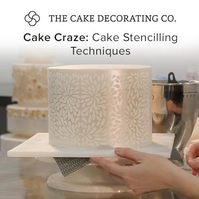 Cake Stencilling Techniques – Cake Craze