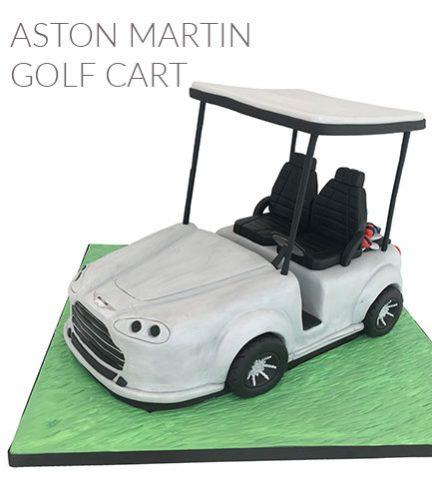 Aston Martin golf cart quickbite