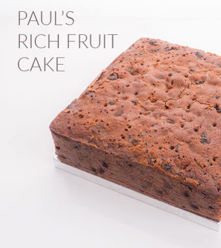 Paul's Rich Fruit cake