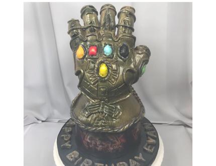 marvel infinity stones cake
