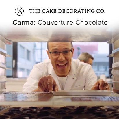 Carma Couverture Chocolate from the makers of Massa Ticino Sugarpaste