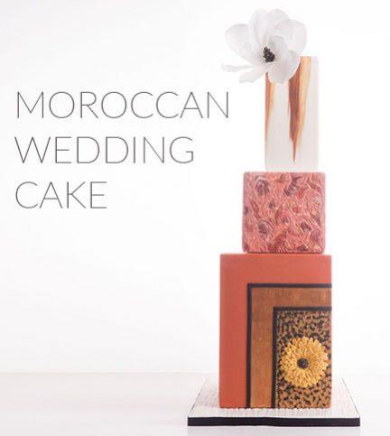 Moroccan Wedding Cake – Bite Sized