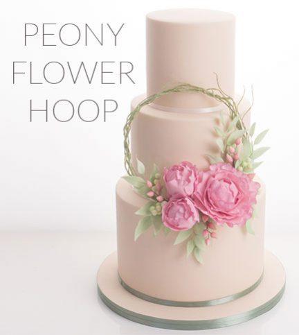 Peony Flower Hoop – Bitesize