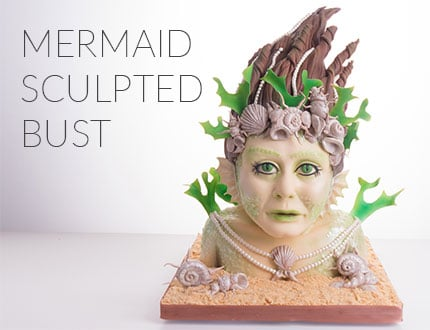 Mermaid Bust