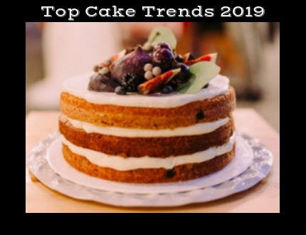 Cool Top Cake Trends 2019 What Cake Trends Will Be Big This Year Personalised Birthday Cards Paralily Jamesorg
