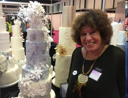eileen spargo - cakeflix cake international winner