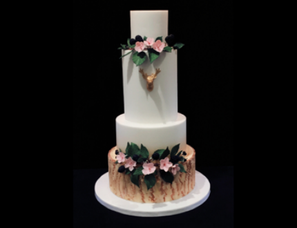 wedding cake - cake of the month