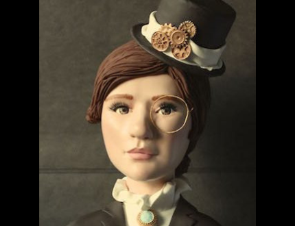 cake portrait - amazing cake sculpture